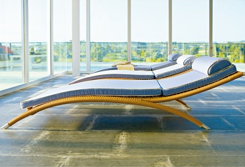 Modern wicker lounge Design Connection Inc Kansas City Interior Design Blog