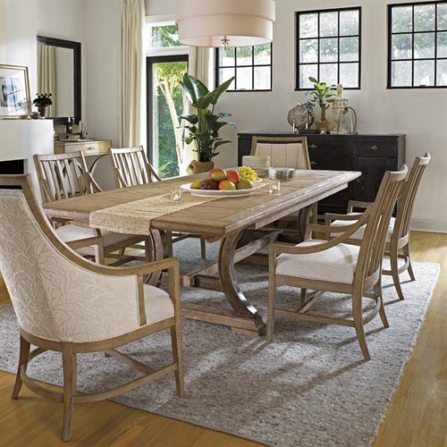 Stanley Furniture Weathered Dining Table Design Connection Inc Kansas City Interior Design Blog