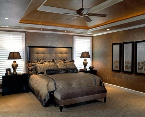 Master Bedroom by Design Connection Inc Kansas City Interior Design