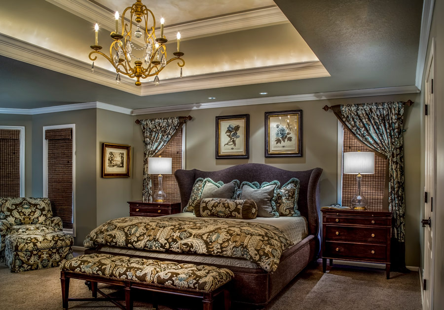 Gold Bedroom Design Connection Inc Kansas City Interior Designer