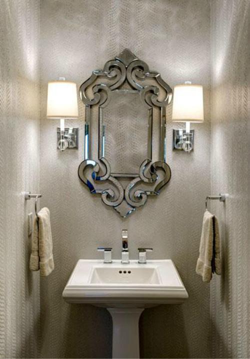 Danze Sirius Widespread Faucet Photo Source: Design Connection, Inc. Kansas City Interior Design
