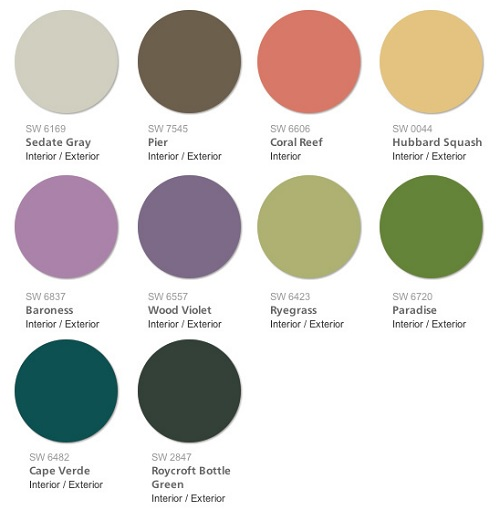 Sherwin Williams 2015 Color Forecast Buoyant Swatch
