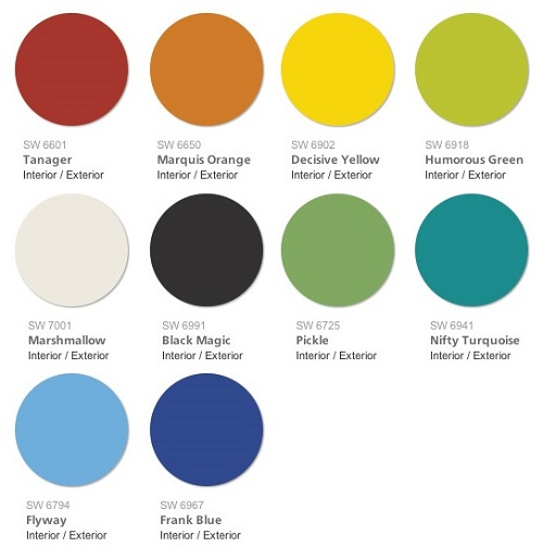 Sherwin Williams 2015 Color Forecast Unrestrained Swatch