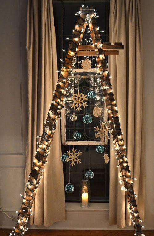 Christmas Ladder Design Connection Inc Kansas City Interior Design Blog