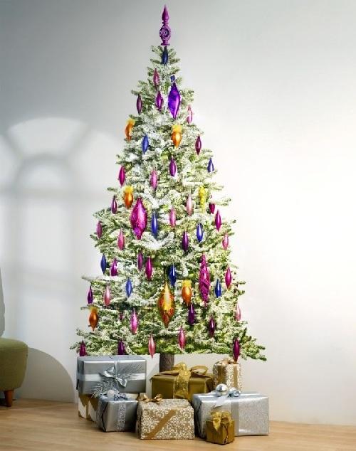 Christmas Tree LED Light Wall Decal Design Connection Inc Kansas City Interior Design Blog