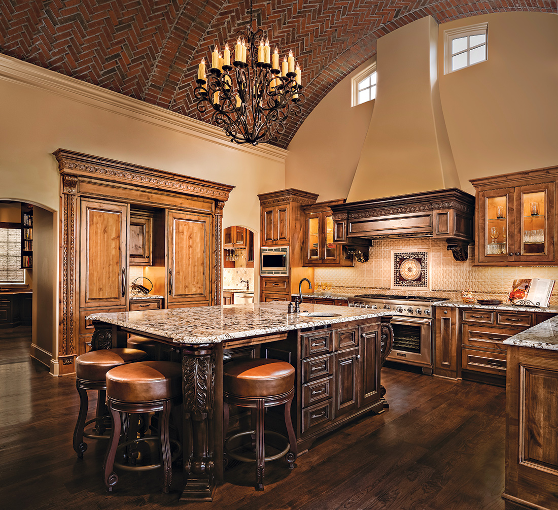 Tuscan Kitchen Design Connection Inc Kansas City Interior Design