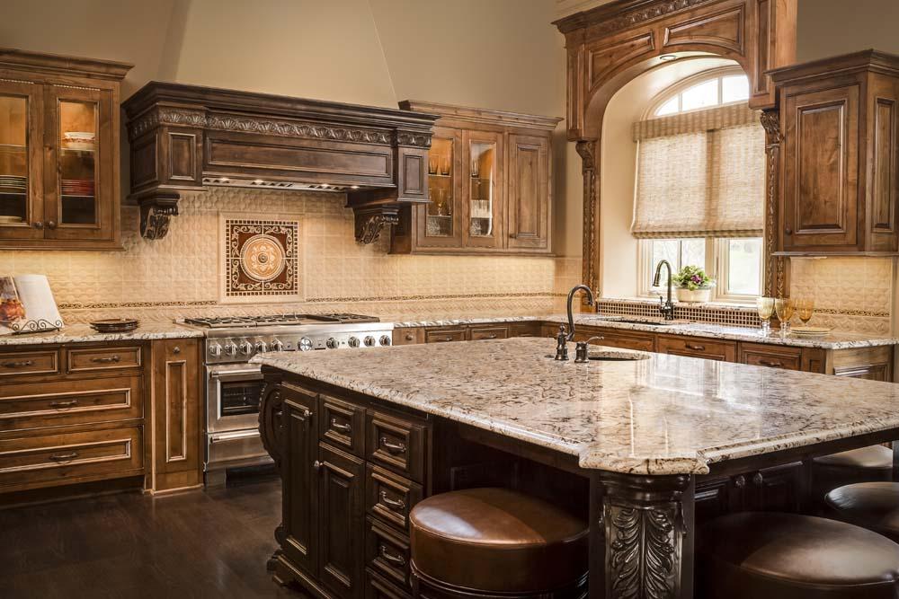Tuscan Kitchen Design Connection Inc Kansas City Interior Design