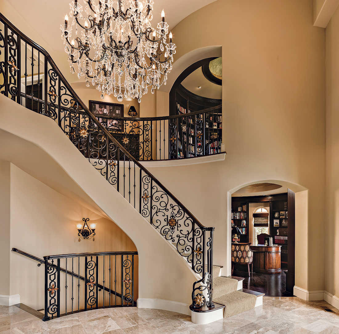 Staircase KC Design Connection Inc Kansas City Interior Design