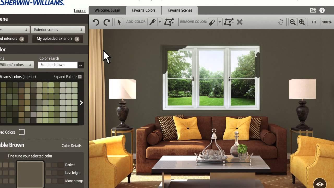 Color Visualizer Design Connection Inc Kansas City Interior Designer