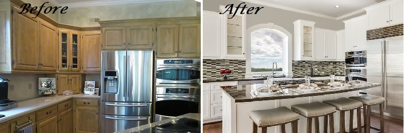 Design Connection Inc Kitchen Before and After