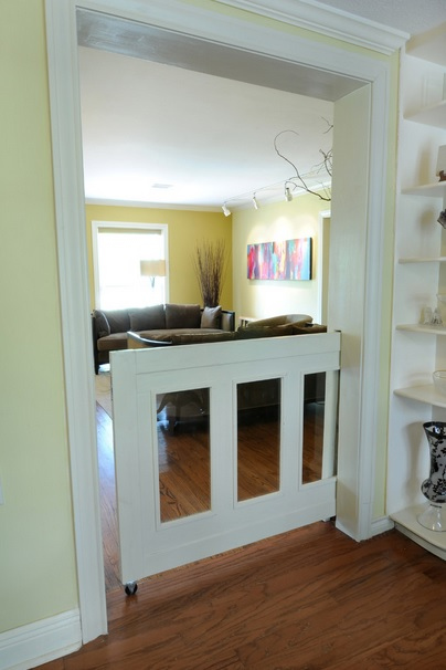 Pocket Dutch Door Design Connection Inc Kansas City Interior Design