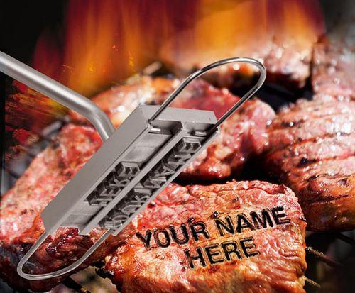 BBQ Branding Iron with Interchangable letters