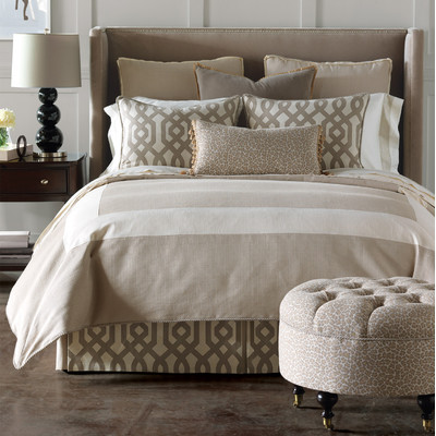 Eastern Accents Geometric Bedding at Design Connection Inc Kansas City Interior Design Blog