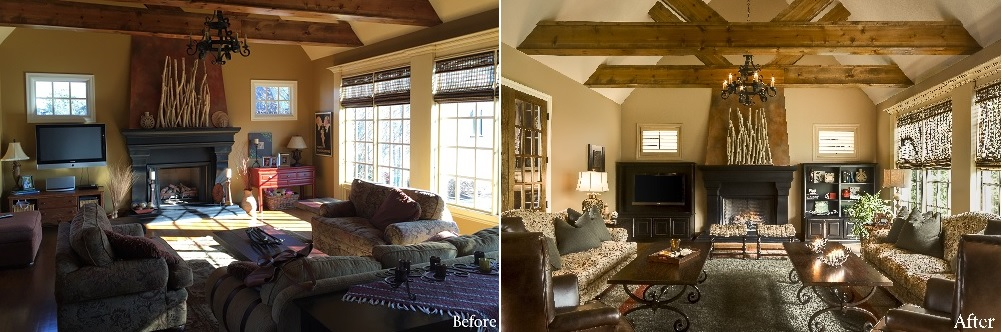 Before and After Design Connection Inc Kansas City Interior Designer