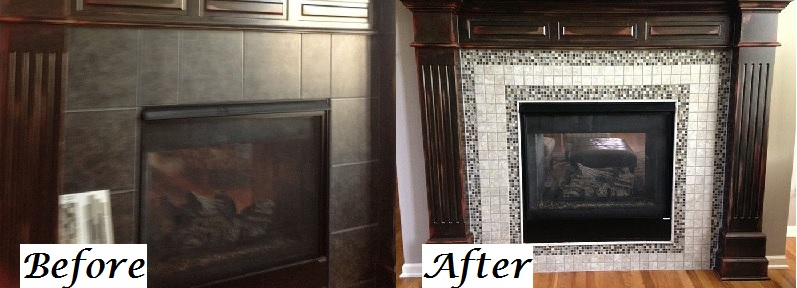 Before and After Fireplace 4 Kansas City Interior Designer