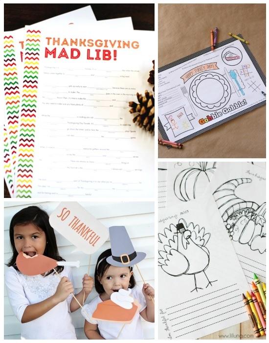 Kids Thanksgiving Printables Design Connection Inc Kansas City Interior Design Blog
