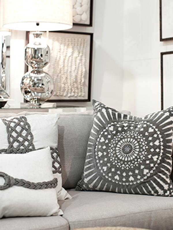 Codarus BHD Gray Geometric Pillow
