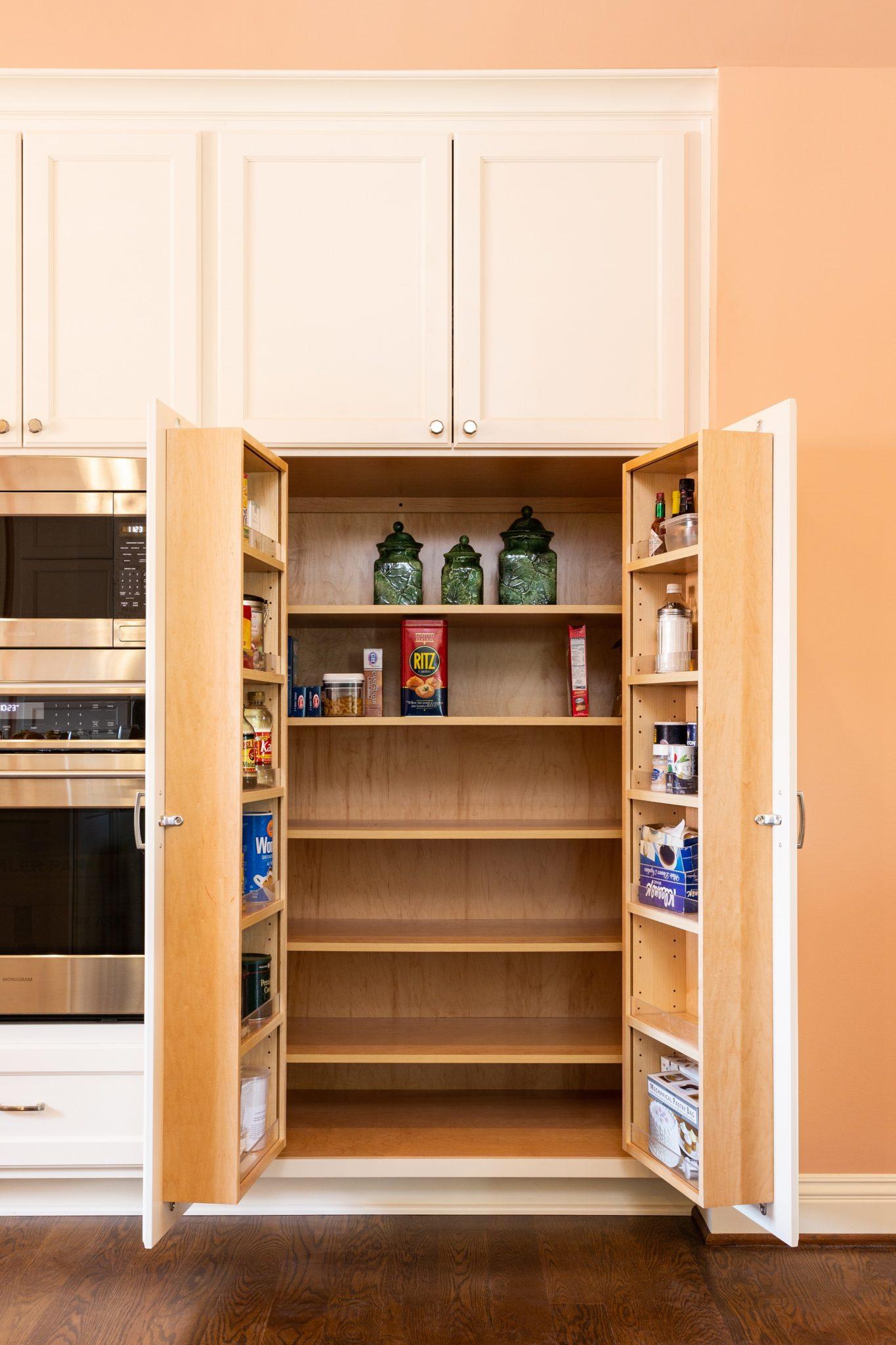 Hidden Storage Kitchen Remodel