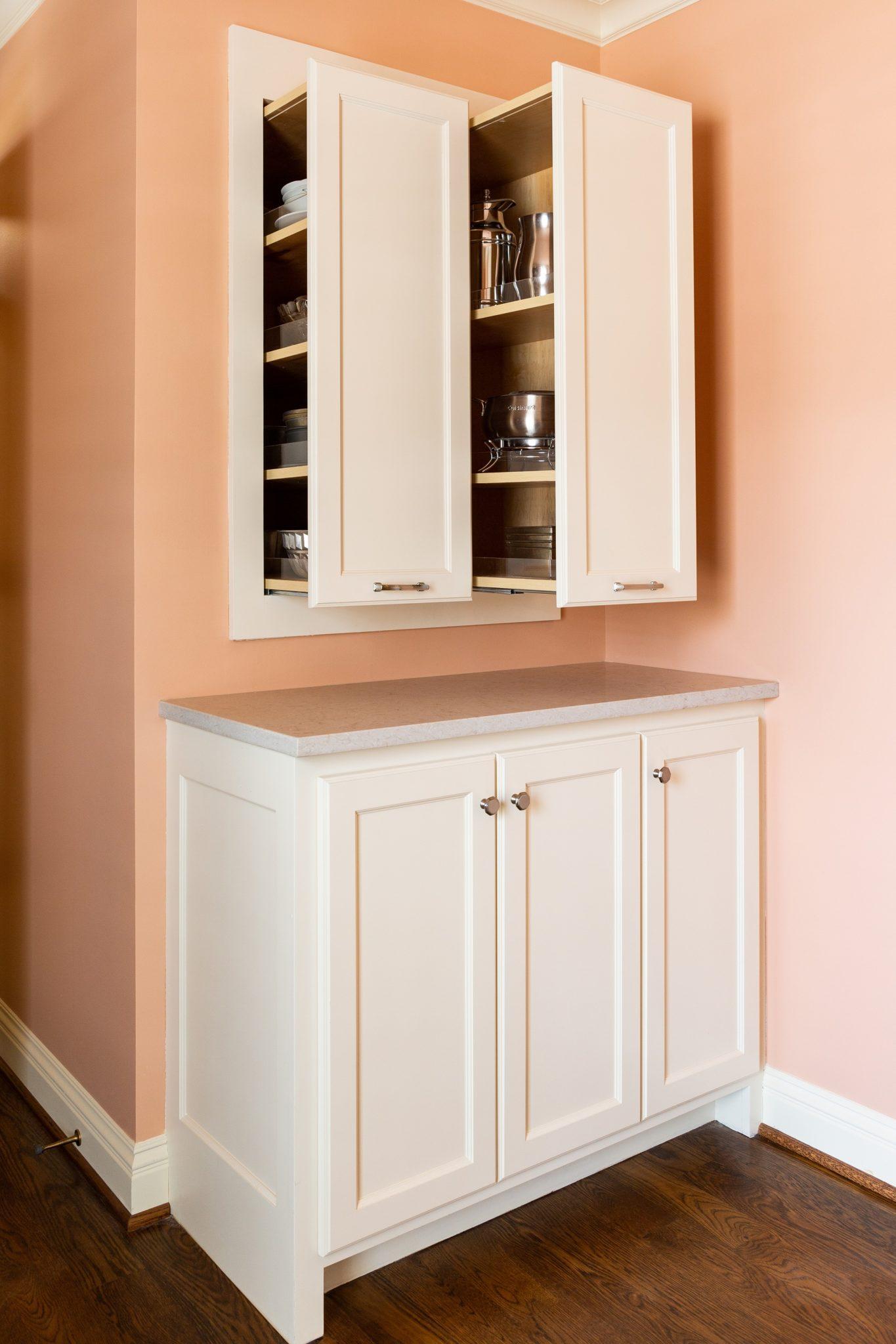 Hidden Kitchen Storage Arlene Ladegaard