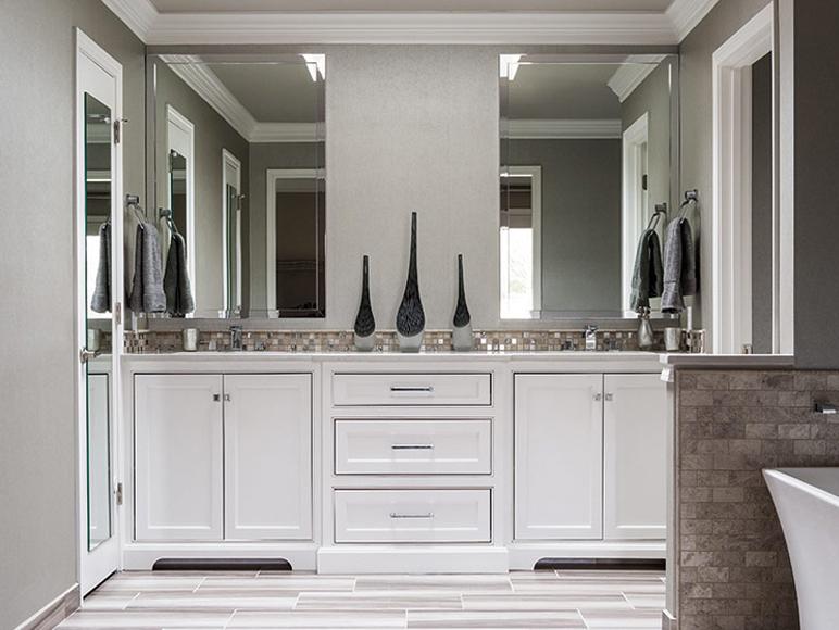 Double Bathroom Sink Design