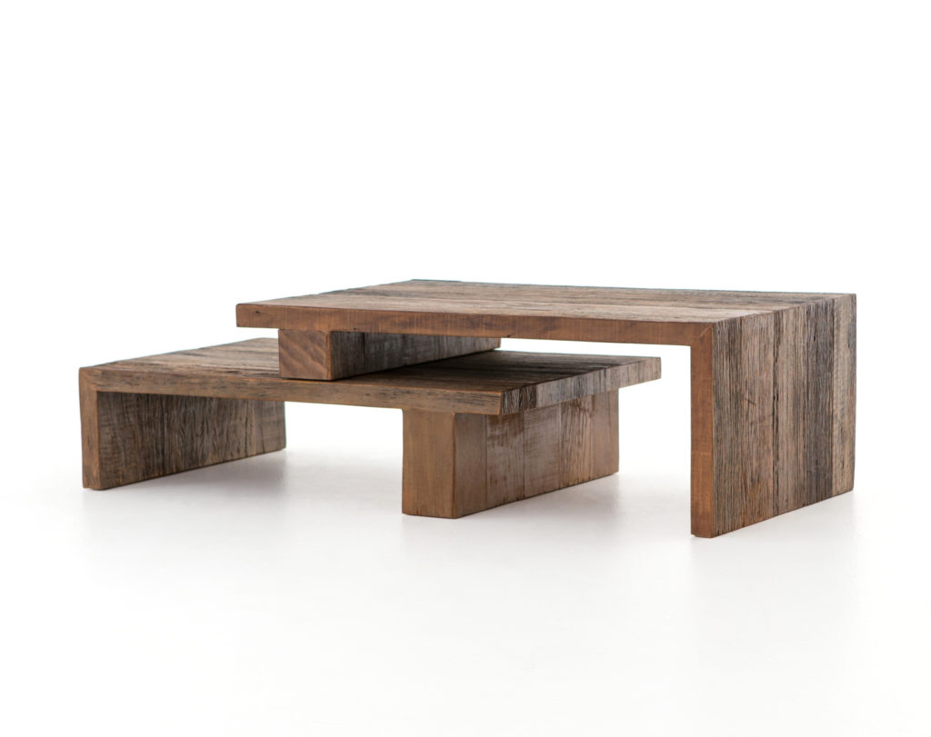Wood And Metal Multi Level Coffee Table.What S Trending Now Thoroughly Modern Coffee Tables Design